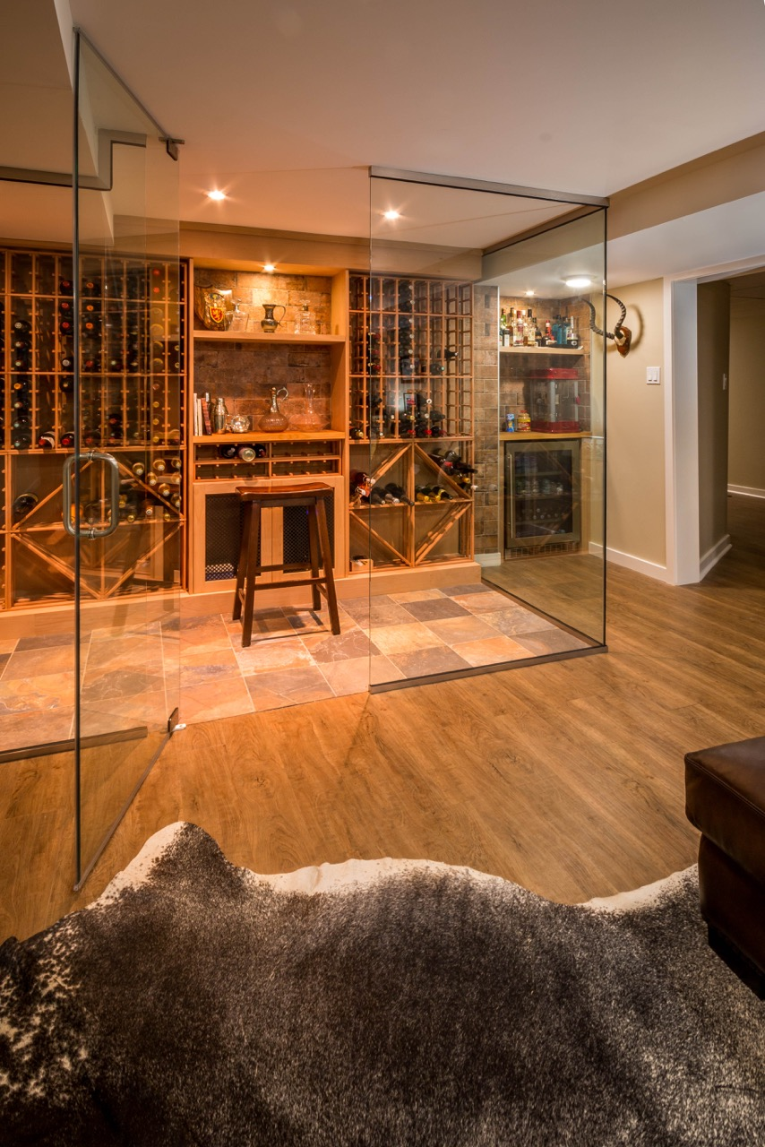 After - Basement / Wine room