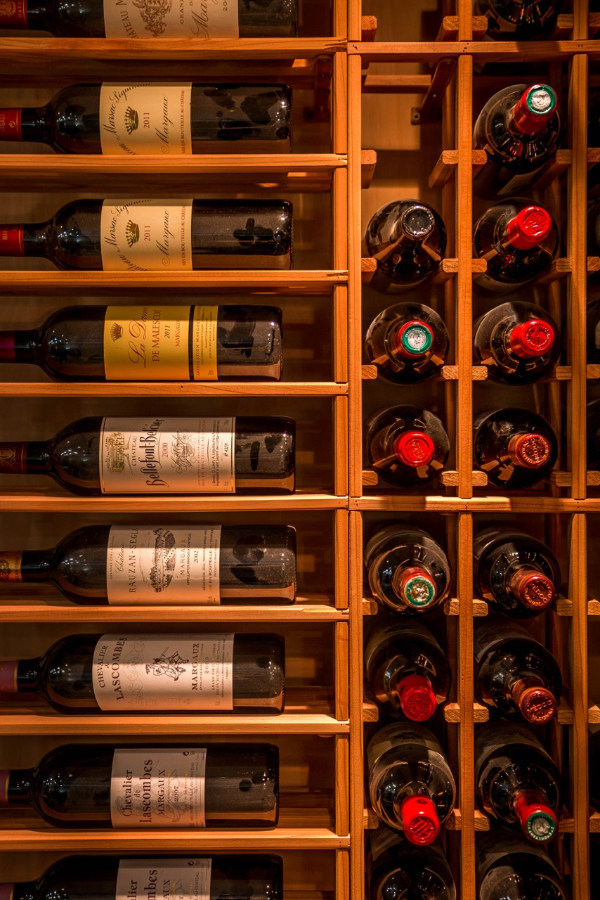 After - Wine room