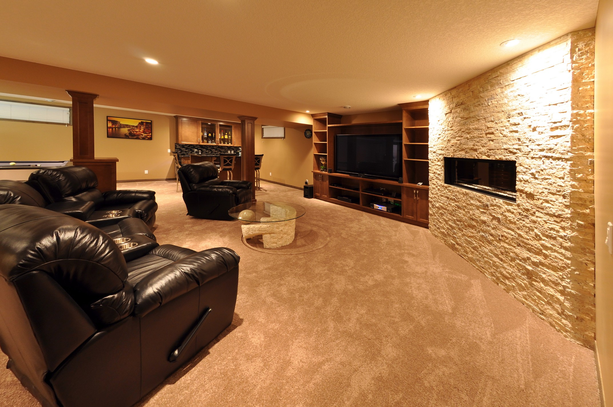 After - basement