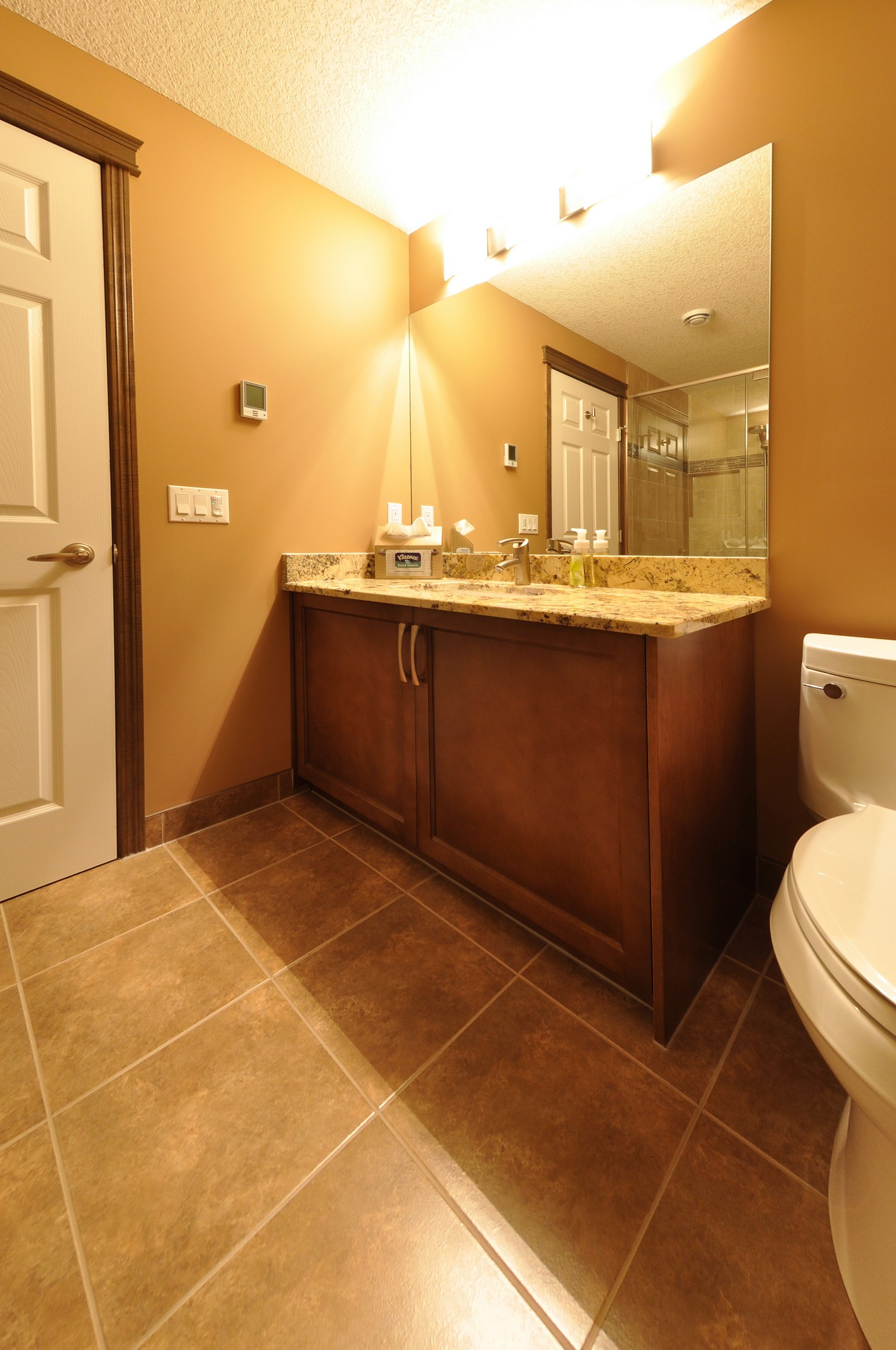 After - basement bathroom