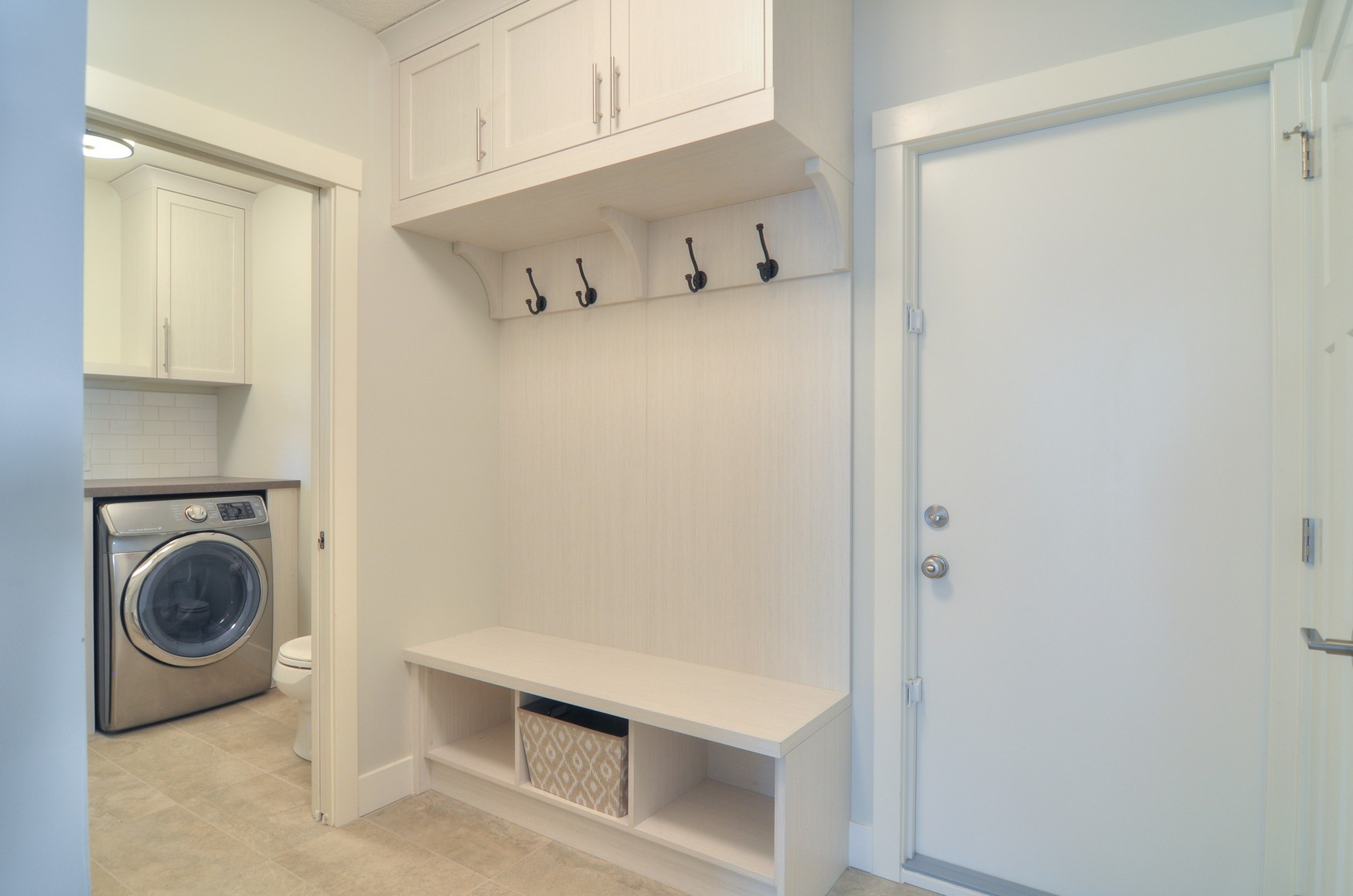Deer Run after - mudroom / laundry