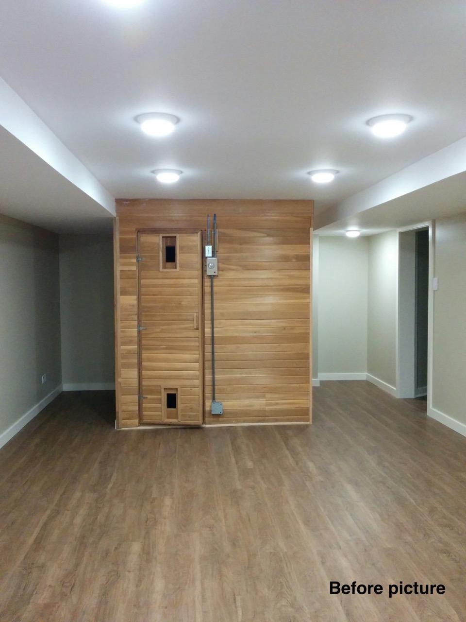 Before - Basement / Wine room