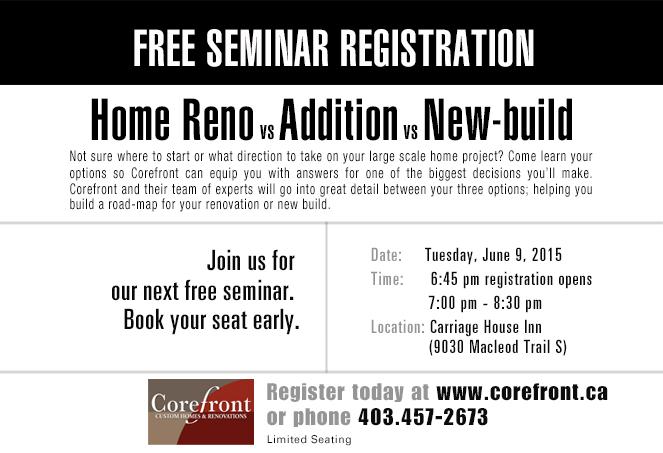Free Seminar Registration