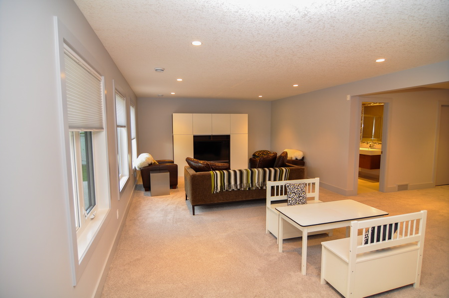Chestermere after - Basement