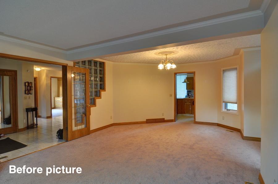 Sundance before - Living room