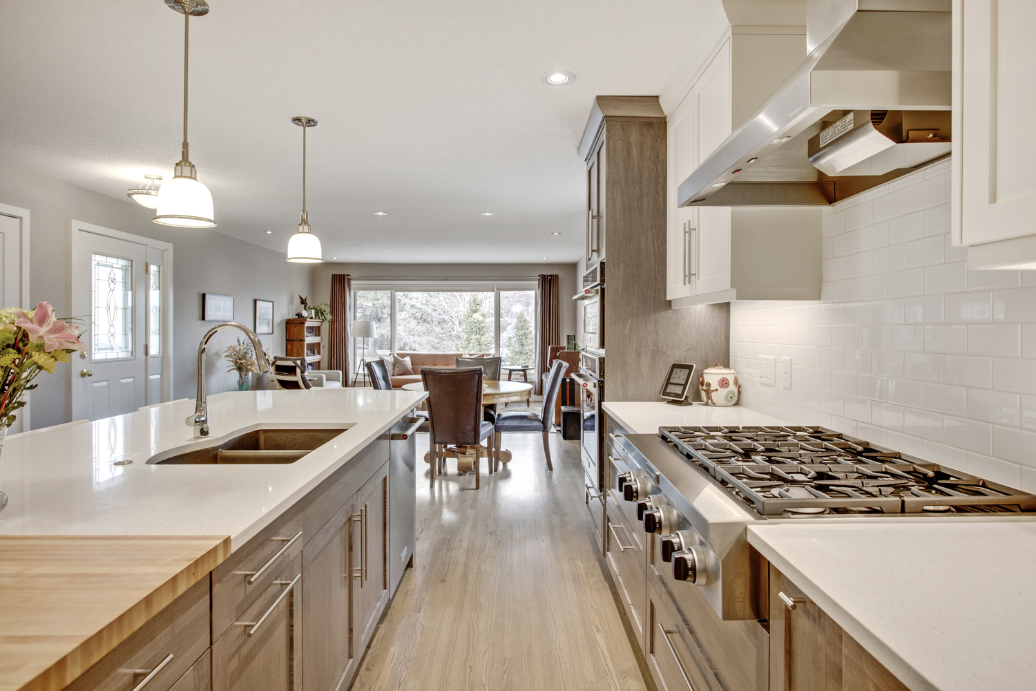Northmount after - Kitchen
