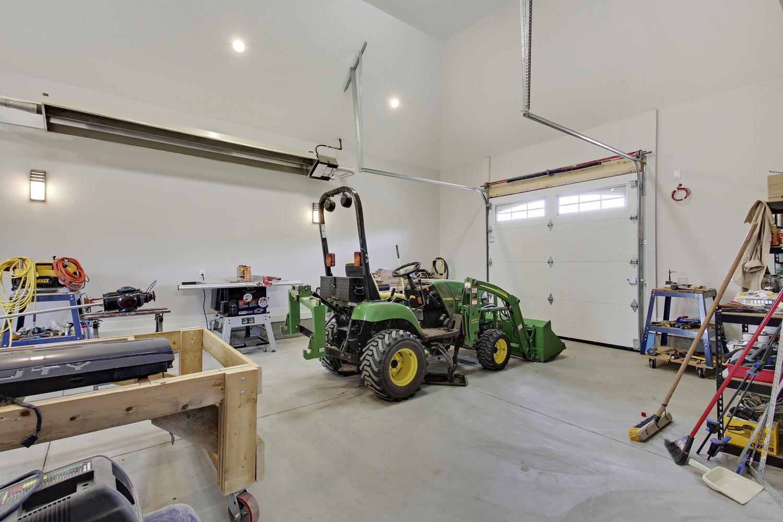 After - Interior garage