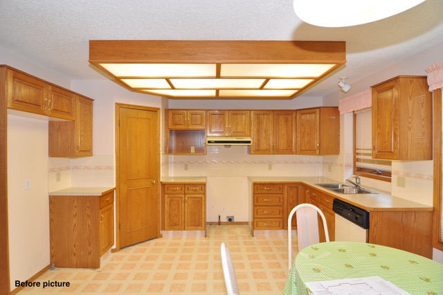 Country Hills Before - Kitchen