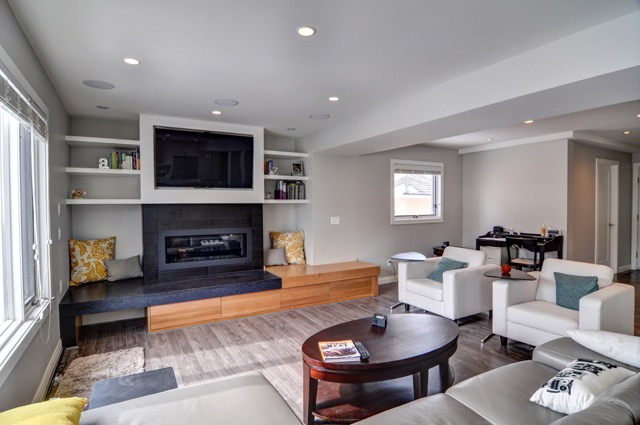 Country Hills After - Family room