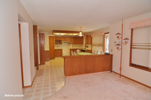 Country Hills Before - Family / Kitchen