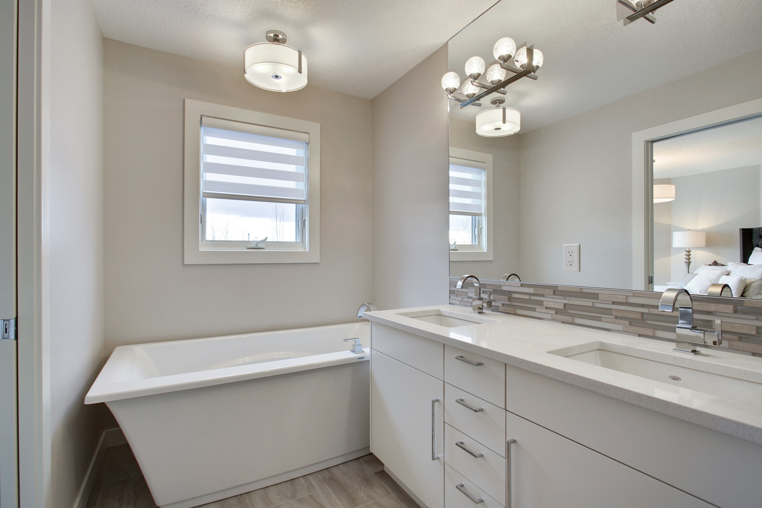 After -  Master Bath