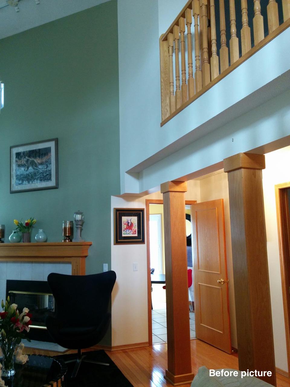 Before - Hallway