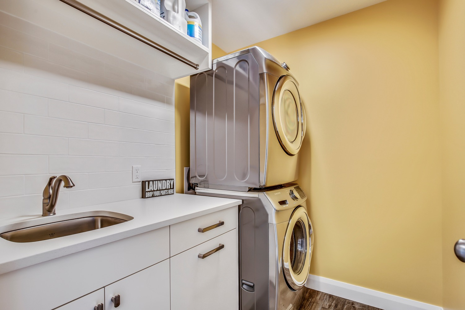 After - Laundry room